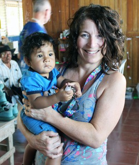 Mitchell resident Janice Rauser, pictured during a Nicaragua trip last year, recently walked 939-km - essentially across the Central American country - as part of a group that raised funds for a Nicaraguan stove project. SUBMITTED