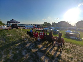 Spectators gathered in Sarnia's Centennial Park in 2018 for the second annual Bluewater Borderfest summer music festival. This year's Borderfest has been cancelled but there are plans to bring it back in 2022.