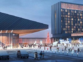 A view of what the Kingsway Entertainment District might look like.