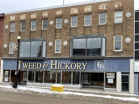 It was announced in January the former Tweed & Hickory and Bucovetsky's location at 227 Third Ave. had been purchased by Things Engraved and Bloomex. The new owner said the ongoing pandemic has created some delays in the planned start-up of renovations on the building.  Supplied/Downtown Timmins BIA