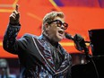 Elton John performs in concert at Rogers Place in Edmonton on Sept. 27, 2019. Larry Wong/Postmedia