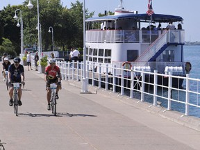 Ontario By Bike has organized a group ride on a loop between Dresden and Sarnia, which will include the Bluewater Trail. The ride will be held July 3 and 4.