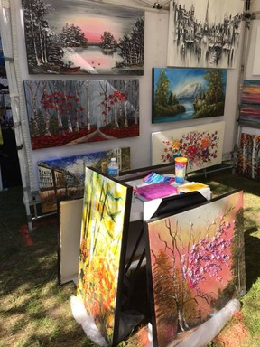 A photo from the 2018 Art in the Park Petrolia festival. Handout/Sarnia This Week