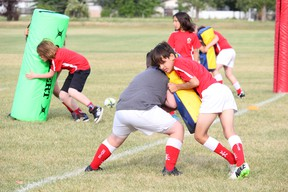 The Strathcona Druids Rugby Football Club is looking to secure more than $667,000 in federal funding for the redevelopment of its club house. Lindsay Morey/News Staff
