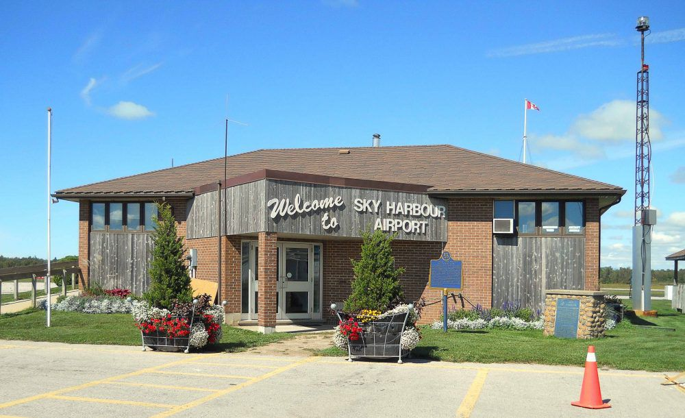 Goderich Airport. File photo
