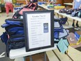 Backpacks and supplies were ready to be picked up by local families as part of the free Backpack Program in August 2018. The program continues this year.