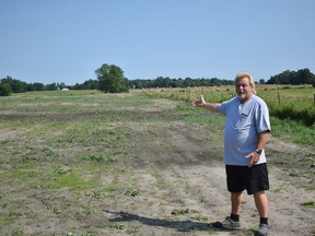 Dwayne Wilson, the owner of a septic tank and repair company called The Stool Bus, plans to turn 14 acres on his property in Strathroy-Caradoc into a dumping site for waste. Calvi Leon/Postmedia Network