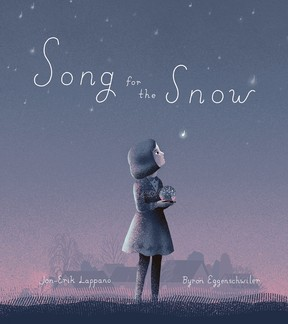 Stratford author Jon-Erik Lappano's new children's book, Song for the Snow, will be available for purchase in local book shops as of Sept. 1. Submitted image