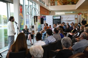 Candidate platforms took a back seat to presentations from local social agencies at the Grande Prairie Public Library's (GPPL) municipal election forum Wednesday night.