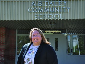 Charlee Mappin is the new principal of A.B. Daley Community School. STEPHEN TIPPER
