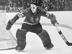 Legendary Chicago Blackhawks goalie Tony Esposito, a humble kid from the Sault's west end.