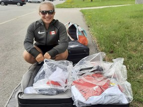 Paralympic athlete Charlotte Bolton from Tillsonburg is ready to compete at the Tokyo Paralympic Games, and will be decked out in new Team Canada gear. (Submitted)