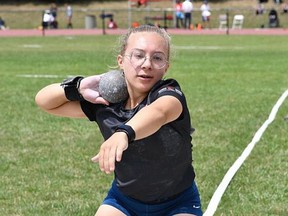 Tillsonburg's Charlotte Bolton, competing here at the recent Ontario Para Provincial Championships, is one of 55 Canadian athletes to receive a 2021 Fuelling Athletes and Coaching Excellence (FACE) Program grant. (Submitted)