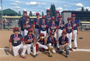 The Parkland Twins 11U AA blue team were crowned provincial champions at the end of August.