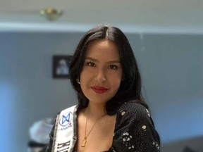 Sarah Cheyenne Jacobs, of Sagamok-Anishnabek First Nation, is representing Northern Ontario in the Miss World Canada 2021 in Toronto on Sept. 30.