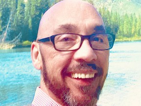 Shawn Rapley is running for a spot on Banff council in the upcoming municipal election on Monday, Oct. 18, 2021. Photo submitted