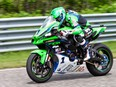 Brantford's Jordan Szoke will attempt to come-from-behind this weekend at Calabogie Motorpsorts Park and win his 15th Canadian Superbike championship during the final doubleheader of the season. Szoke is third in the series points race.