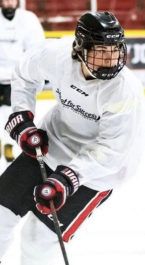 Brantford's Mitchell Ferras, drafted by the Ontario Hockey League's Kitchener Rangers, will begin his junior hockey career with the Greater Ontario Junior Hockey League's Caledonia Corvairs.