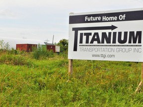 If all goes well, Titanium Transport, which recently acquired International Truckload Services, is set to develop a portion of the industrial park. Photo taken on Wednesday September 15, 2021 in Cornwall, Ont. Francis Racine/Cornwall Standard-Freeholder/Postmedia Network