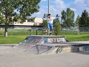 The High River Skate Park was packed Skate Mania on Aug. 26