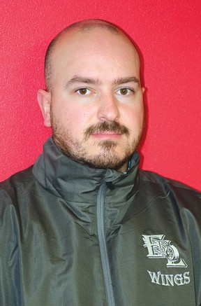 Photo by KEVIN McSHEFFREY/THE STANDARDTanner Bowditch is the new head coach for the Elliot Lake Red Wings.