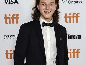 Colton Gobbo, a 21-year-old actor from Greater Sudbury, attends the Toronto International Film Festival for the screening of Lakewood directed by Phillip Noyce. Gobbo co-stars in the film alongside Oscar nominee Naomi Watts. Supplied photo
