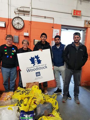 The Ahmadiyya Muslim Jama'at Community in Woodstock is hosting a food and charity drive to support a number of local organizations, including food banks. SUBMITTED PHOTO