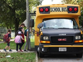 The Woodstock Police Service has provided a few back-to-school safety tips for motorists, parents and kids. Postmedia Network file photo