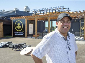 Tony Girogi is the founder and CEO of Sensi Brands Inc. Today the company opened a farm-gate marijuana store called Station House located on the same property that the company grows marijuana on in St. Thomas,. Derek Ruttan/Postmedia Network