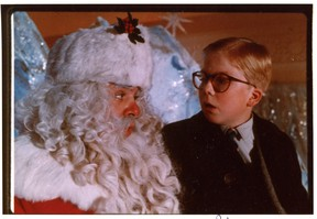 A Christmas Story starring Peter Billingsley as Ralphie    Please scan these photos of A Christmas Story, Die Hard, A Christmas Carol, Bing Crosby and Cary Grant.