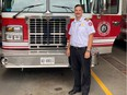 The City of Cornwall recently hired a second deputy fire chief - Leighton Woods. Handout/Cornwall Standard-Freeholder/Postmedia Network