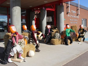 The members of town council were looking a little rounder and more orange than usual during the 2019 Petawawa Ramble. The amusing display of Pumpkin People council members was located in front of the town offices for the event.