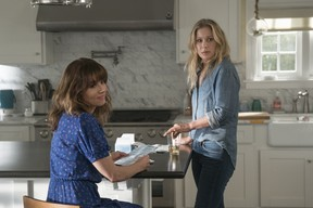 Linda Cardellini, left, and Christina Applegate in Dead To Me