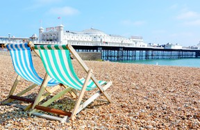 The U.K. Brighton is also known as London by Sea, a rollicking city of 300,000 hipsters.