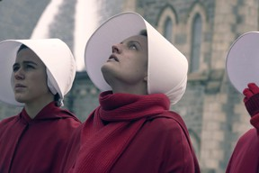 Elisabeth Moss reprises her role in The Handmaid's Tale