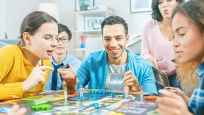 Family can always come together over a board game.