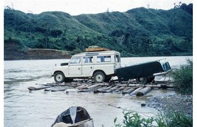 In 1960, Elizabeth and Earlston Doe loaded their boys into a Land Rover and drove for 10 weeks from Maracaibo Venezuela to Dartmouth, N.S. Along the way, the battled border troubles, rainforests, washed out roads and missing bridges.