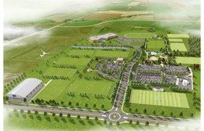 The Millennium Park project includes adding four irrigated soccer fields, an artificial turf field that could be used for football or soccer, a splash pad, a field house and other elements such as a gazebo and benches.