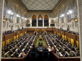 The chamber of the House of Commons is seen during Question Period Wednesday March 27, 2013 in Ottawa. THE CANADIAN PRESS/Adrian Wyld