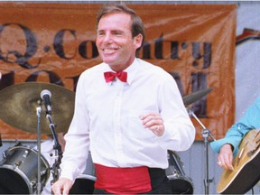 Valley step dancing legend Buster Brown performs in this 1991 Citizen file photo. Buster Brown died April 15, 2014 at age 63.