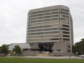 The Jean Talon federal building at Tunney's Pasture in Ottawa.