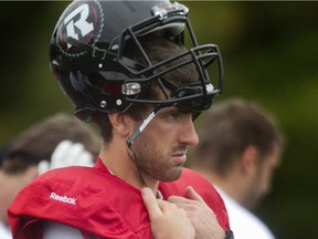 Danny O'Brien is still in the mix for a job with the RedBlacks.