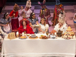 Alice Through the Looking-Glass is running at the Stratford Festival until Oct. 12.