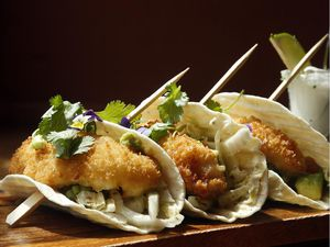 Fish Tacos from Heirloom Cafe & Bistro in Almonte