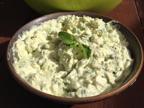 Mint and Avocado Dip is a guacamole-like hit.