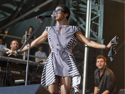 Ms. Lauryn Hill performs as Bluesfest enters day seven of the annual music festival.