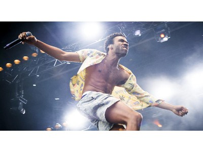 Childish Gambino brought his high energy to the Claridge Homes Stage at Bluesfest Saturday July 12, 2014.