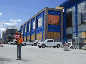 The retail portion of the Lansdowne redevelopment will be anchored by Whole Foods, Sporting Life and LCBO outlets. The earliest will open in November.