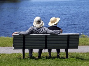 Sunny skies are in the forecast for Tuesday, with an expected high of 23 C.