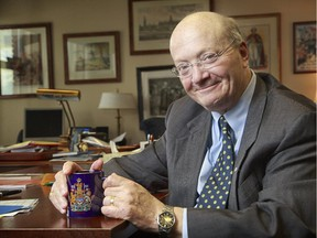 OTTAWA, ON: MAY 28, 2014:  Interview with departing Senator Hugh Segal.  ( Chris Mikula / Ottawa Citizen) For NATIONAL story Assignment # 117156